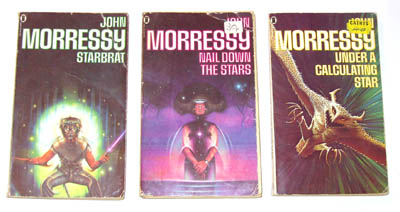 The 'Del Whitby' trilogy by John Morressy